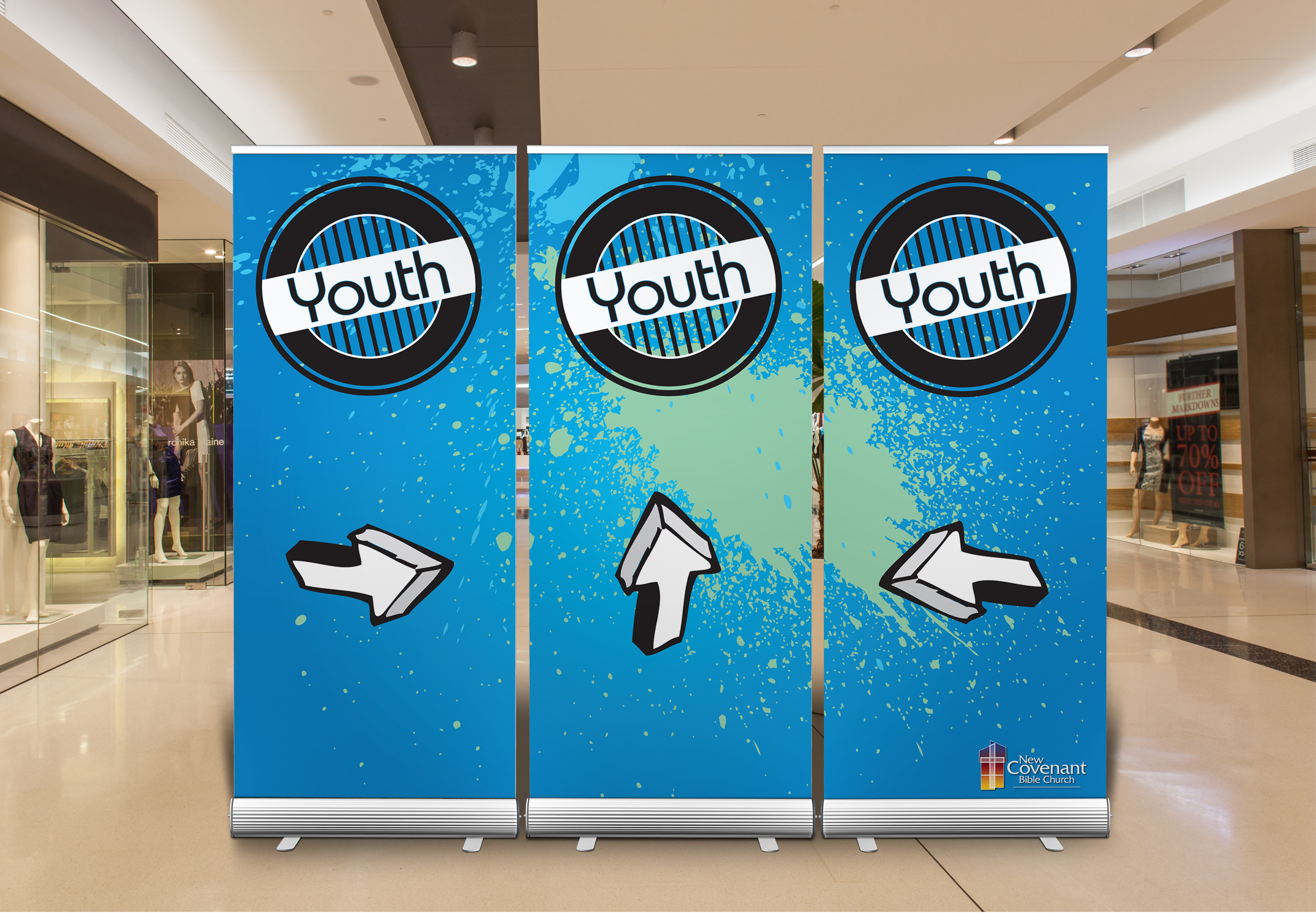 Youth Roll Up Banner
